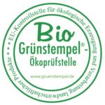 Unser Betrieb wird von Grünstempel Bio-zertifiziert.
